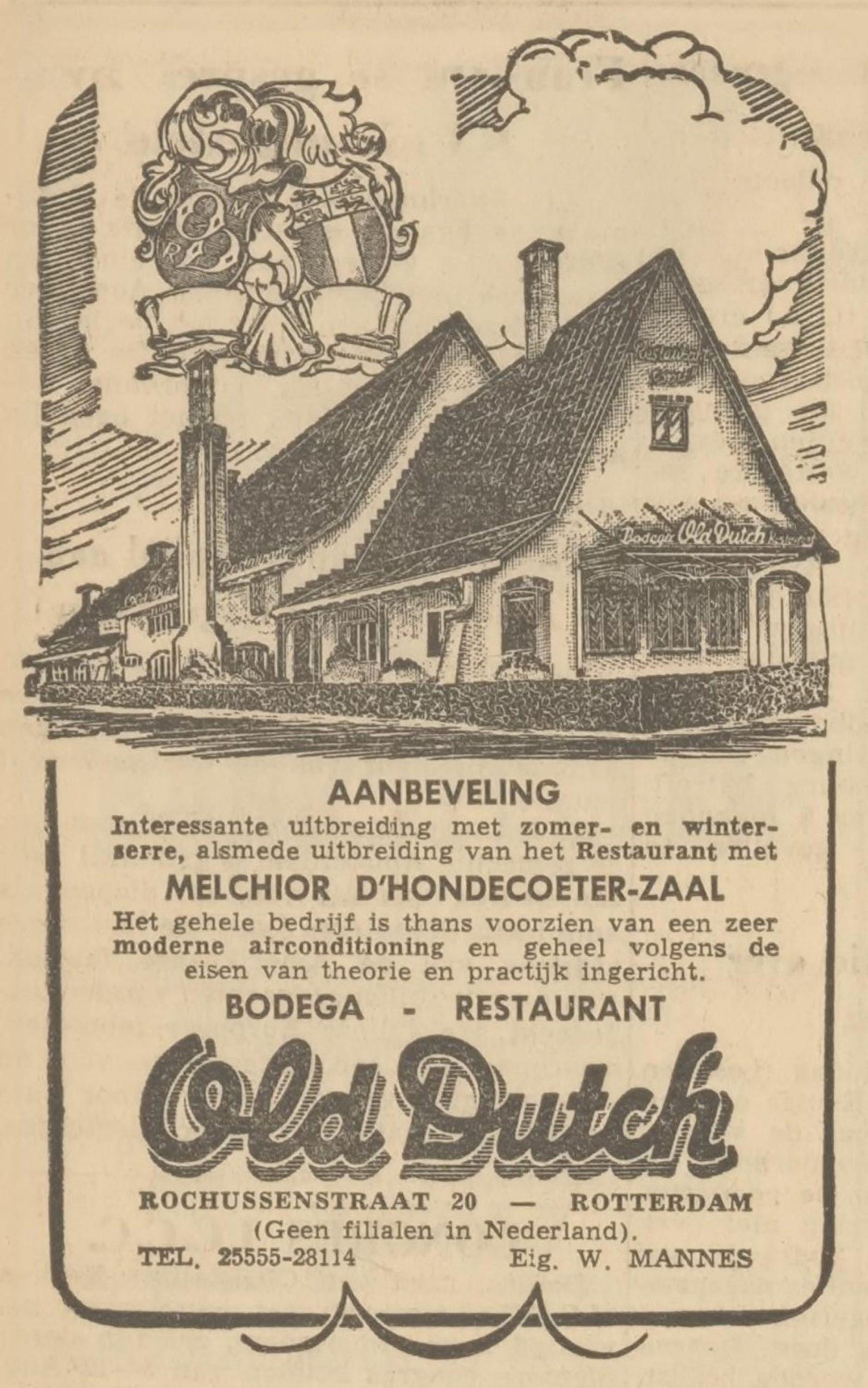 19 1954 old dutch adv 30 6 1954