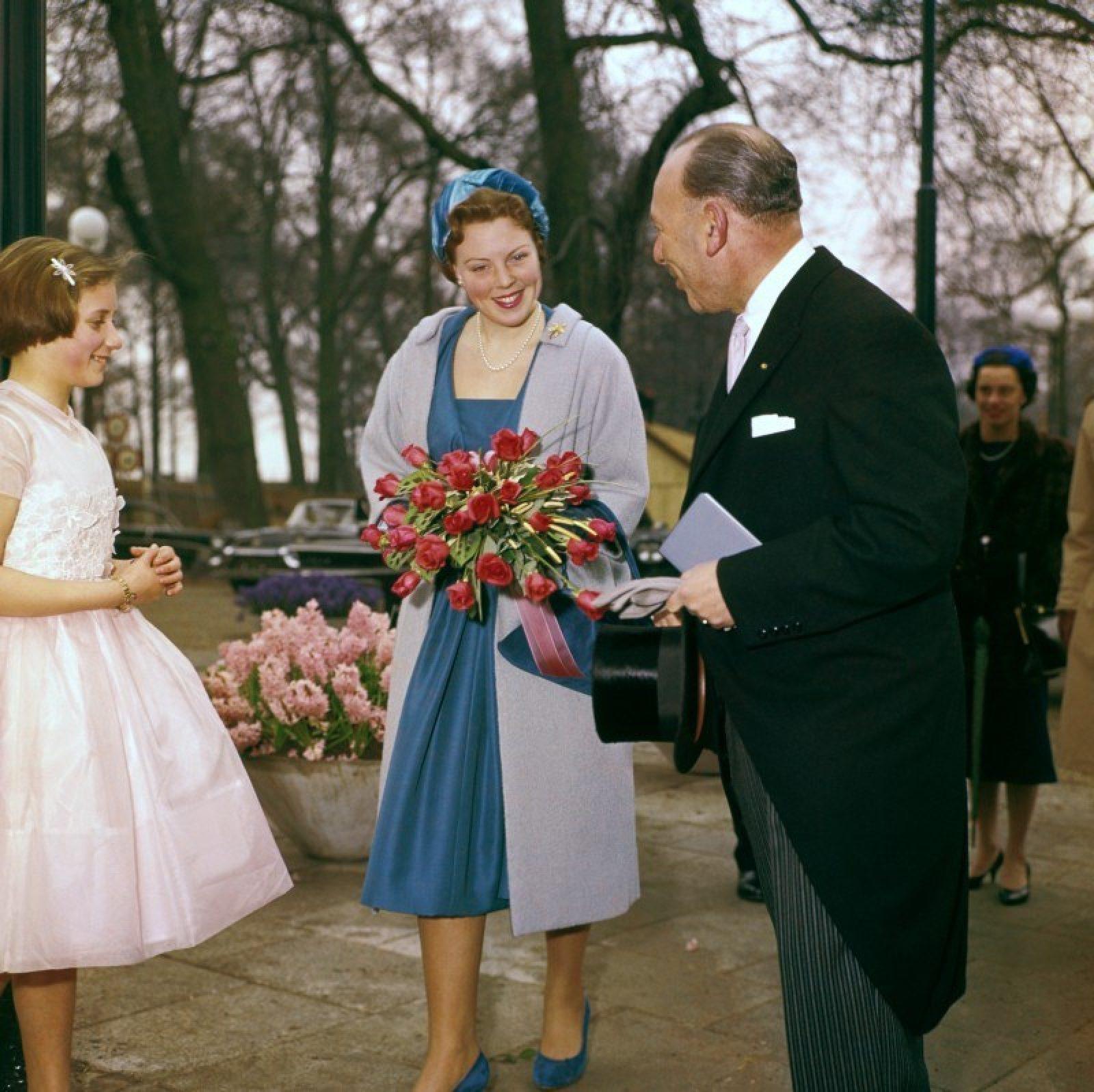 19600325 Beatrix opent Floriade 457074687 ANP