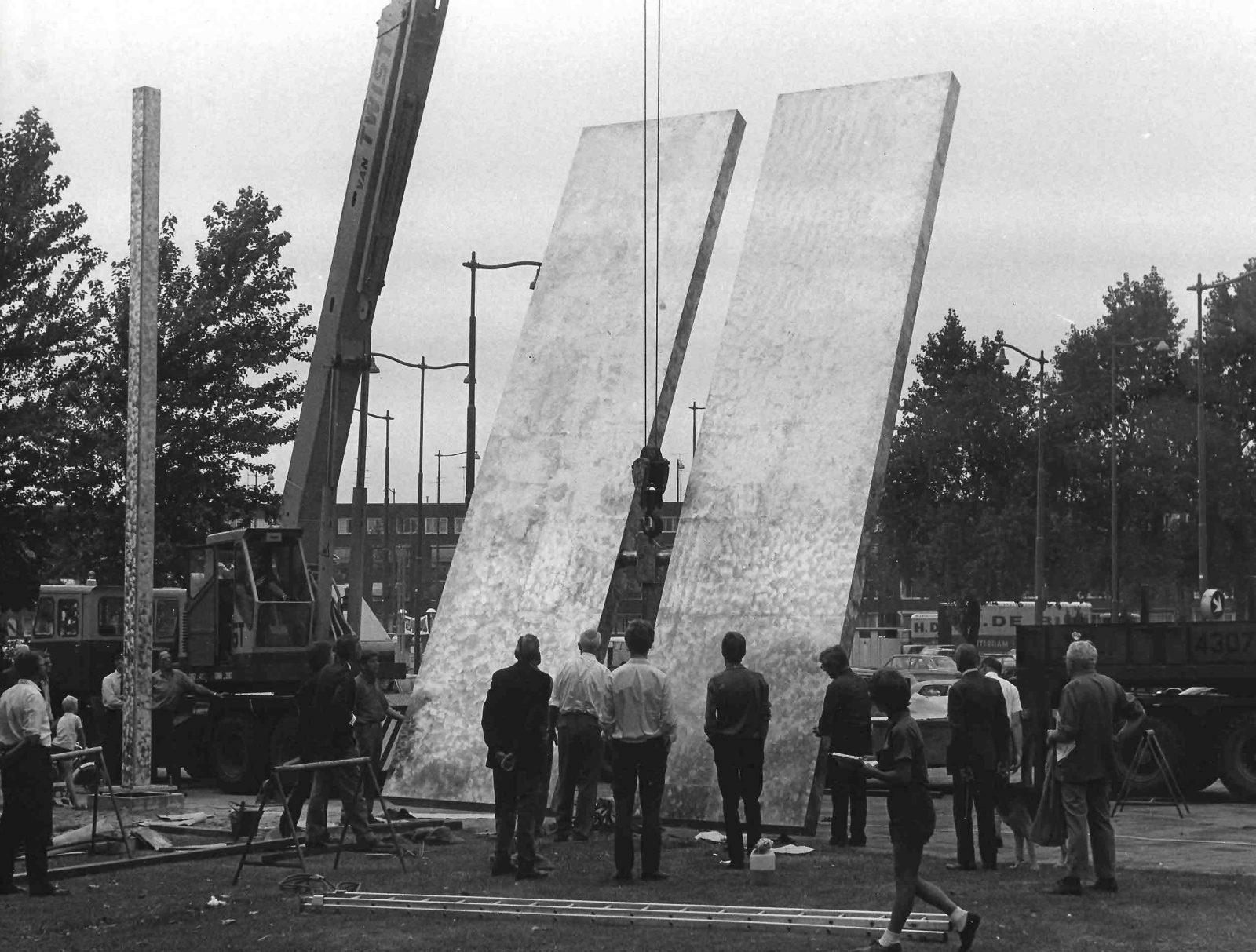 1969 plaatsing Rickey Stadsarchief Rotterdam