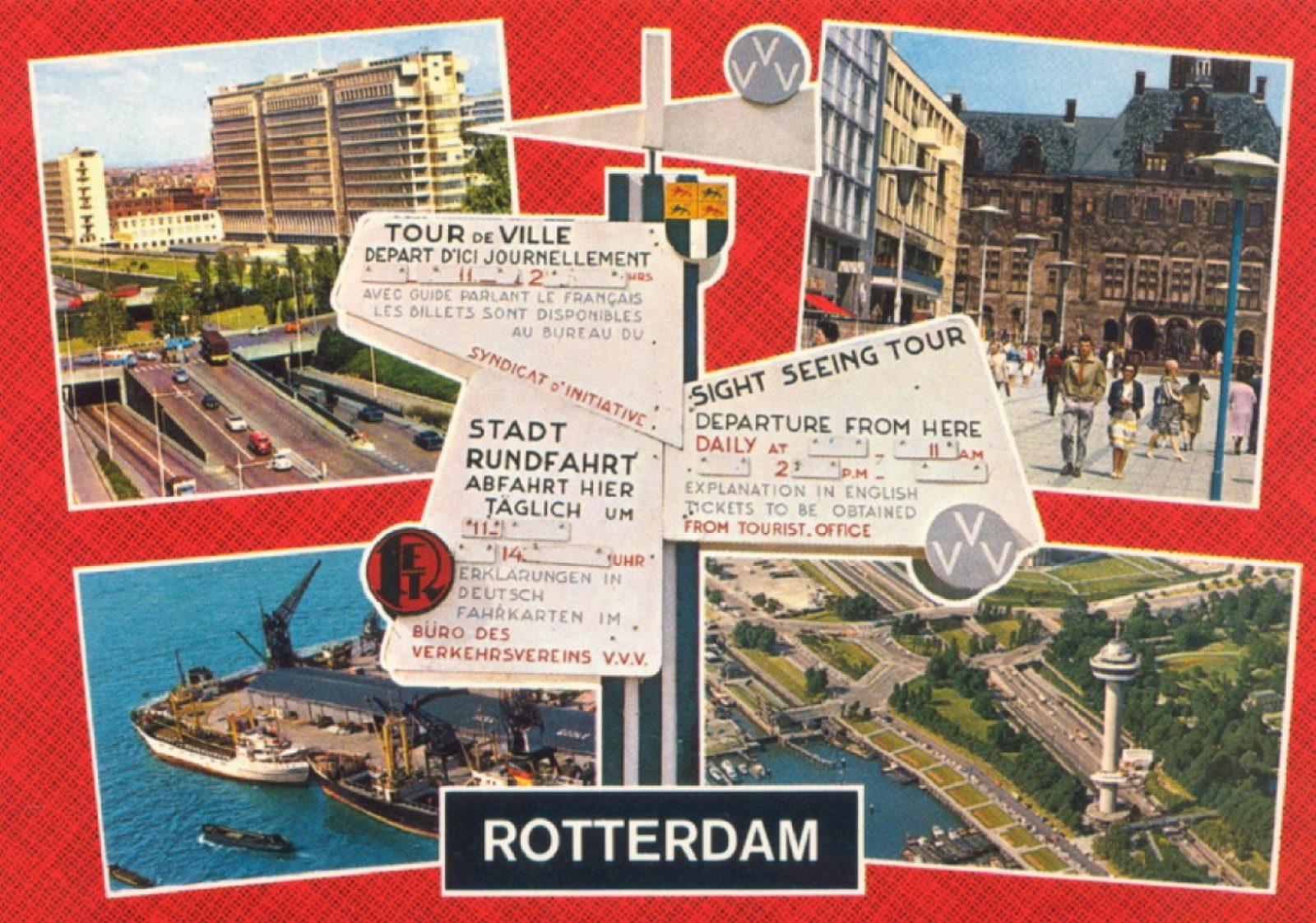 2 mei 2021 1960 groeten uit Rotterdam