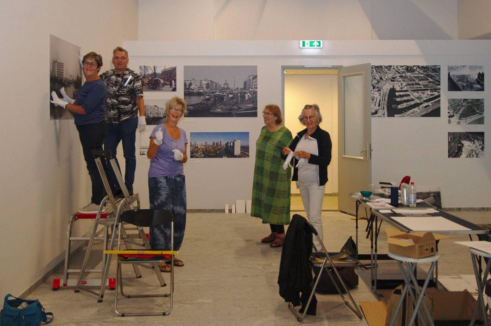200909 expo in opbouw