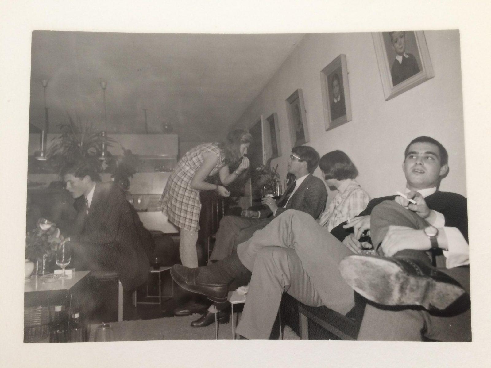 Huis Bakker s Gravenweg rond 1970