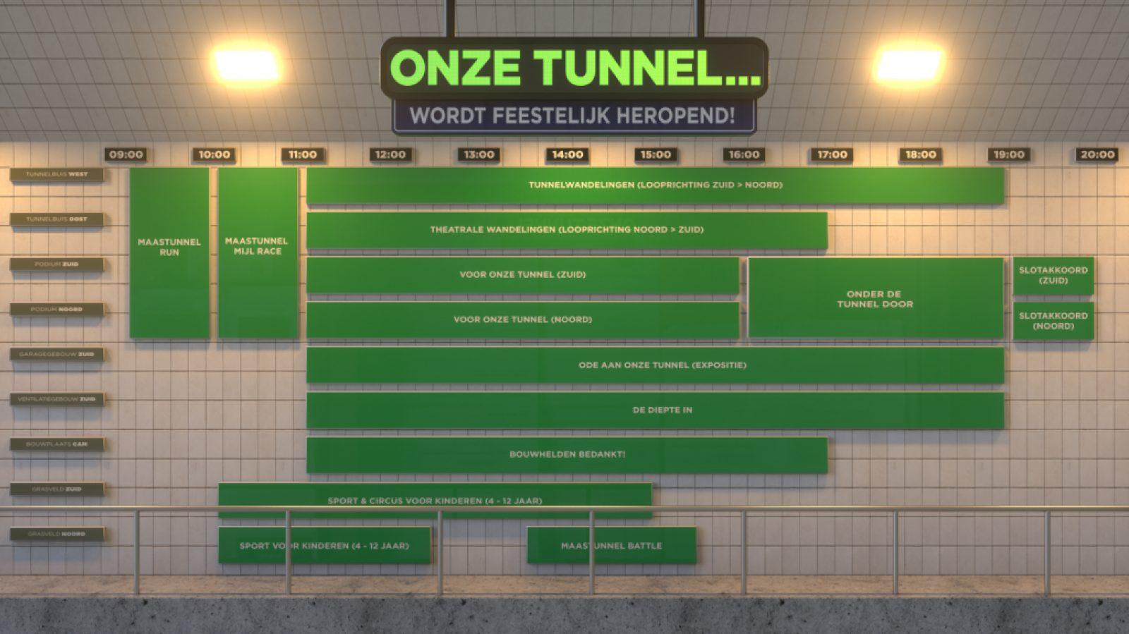 Maastunnel blokkenschema