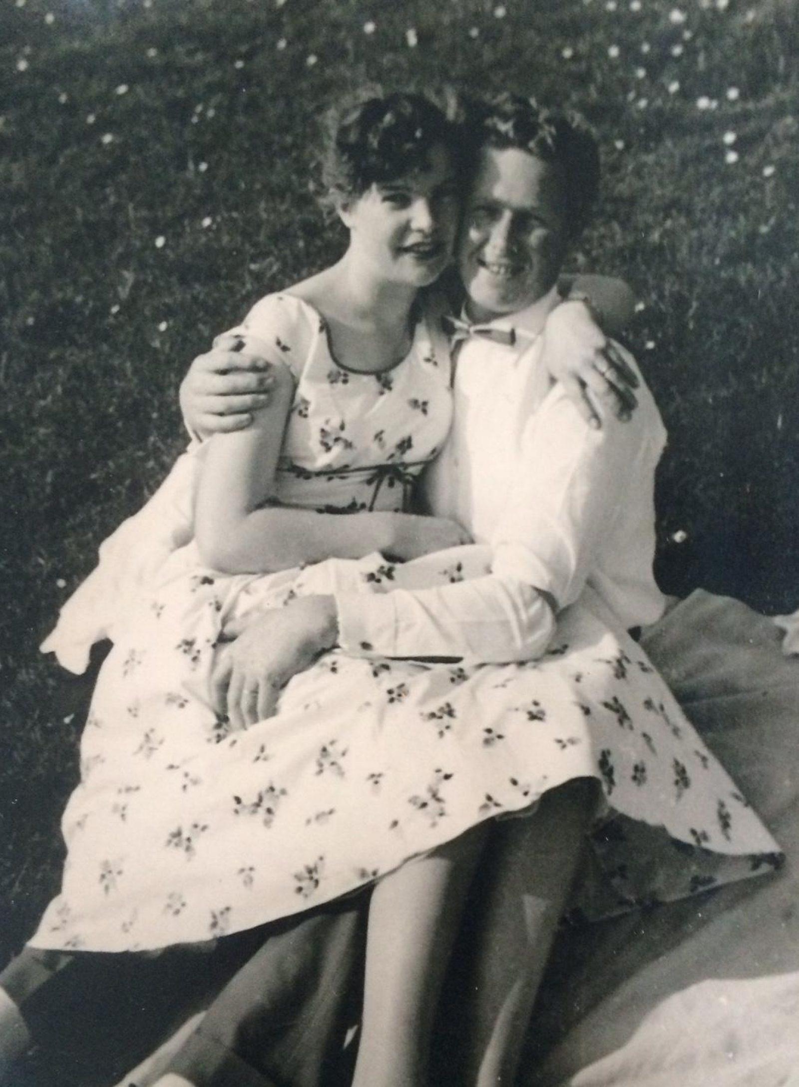 Jan en Geke de Groot verliefd