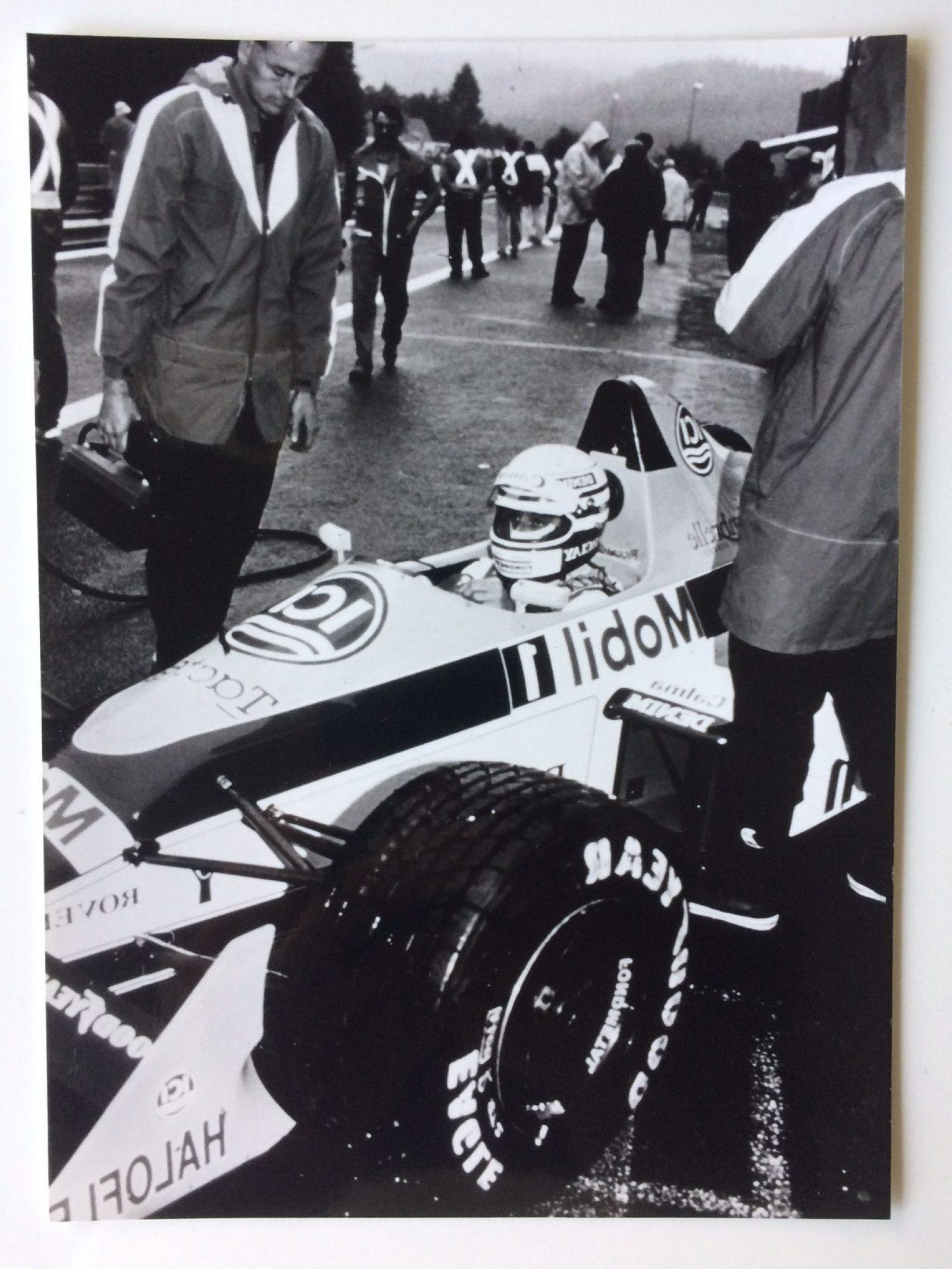 ICI sponsort Team Williams autoracing JB