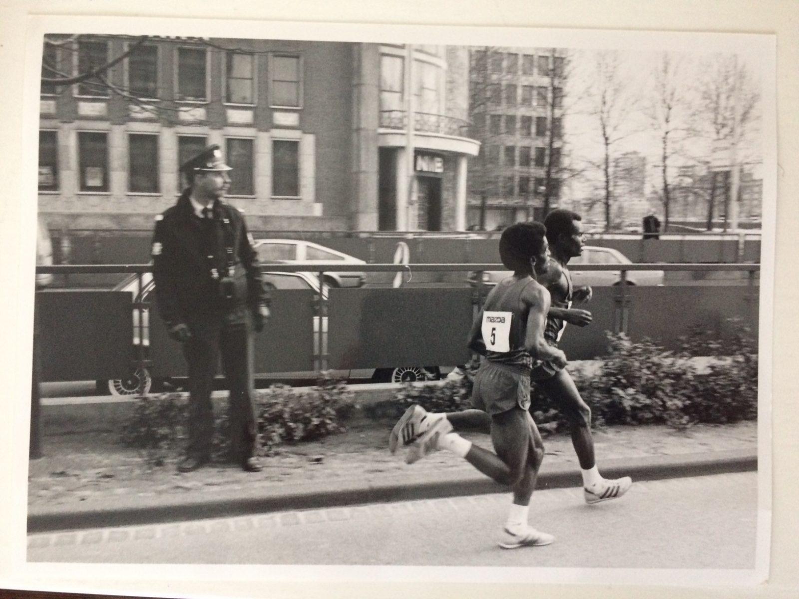 Marathon voor NMB en ICI langs 1986 Densimo