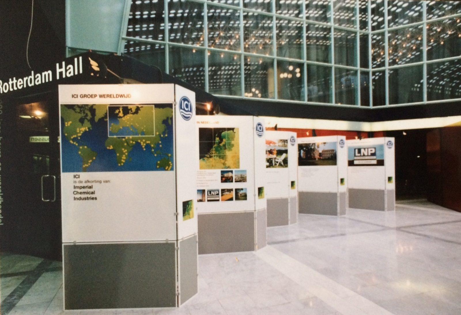 ICI presentatie in beursgebouw