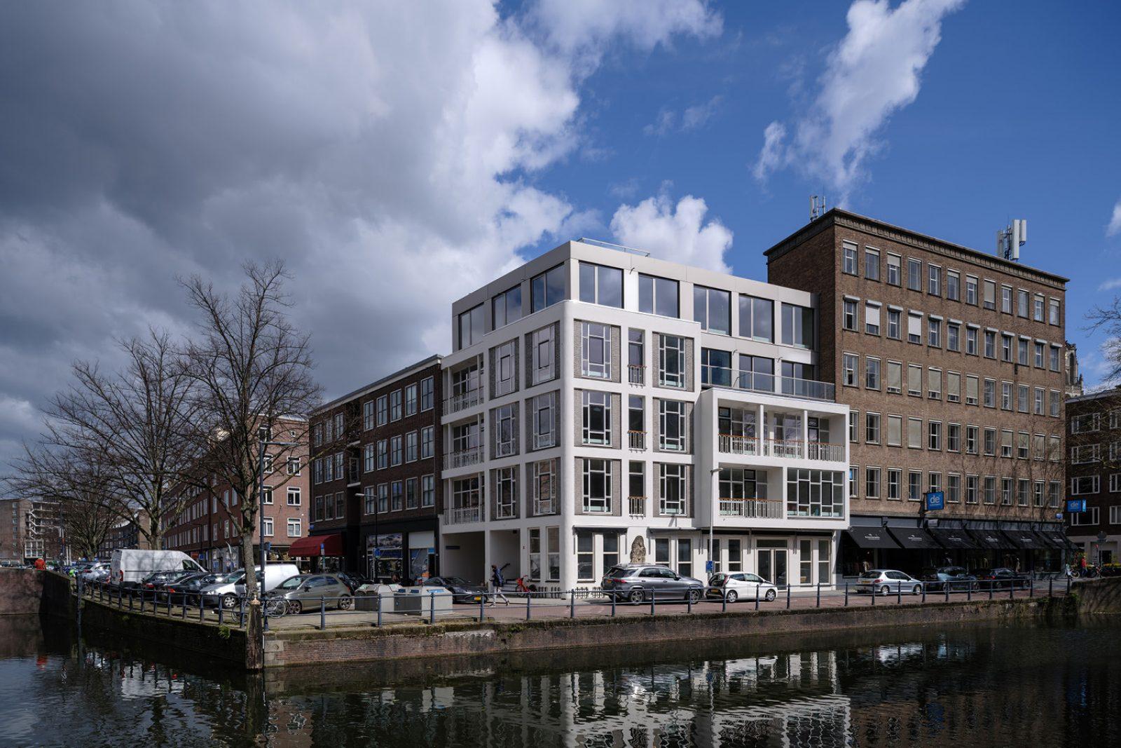 Delftsevaart appartement jade architecten rotterdam