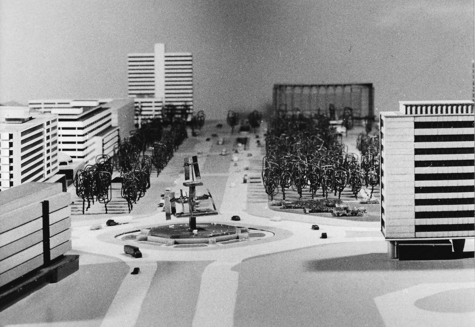 George Rickey Foundation Rotterdam Hofplein maquette 1