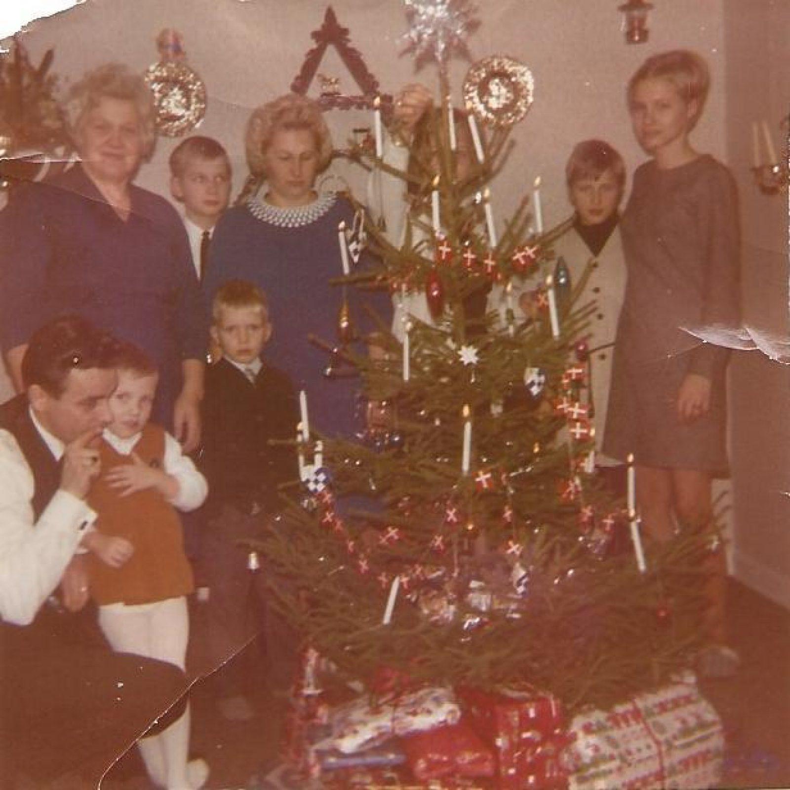 Helga Andersen Foto kerst met gezin en familie