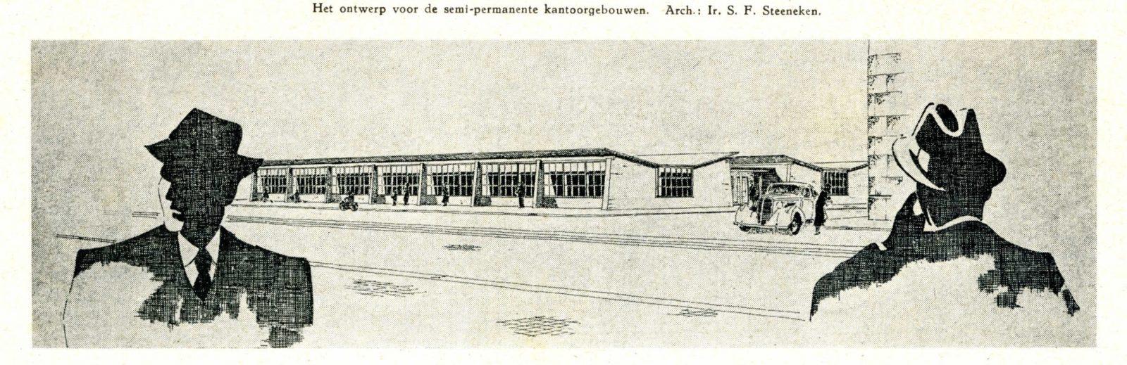 Noodkantoren Blaak Maasstad 1949 janfeb