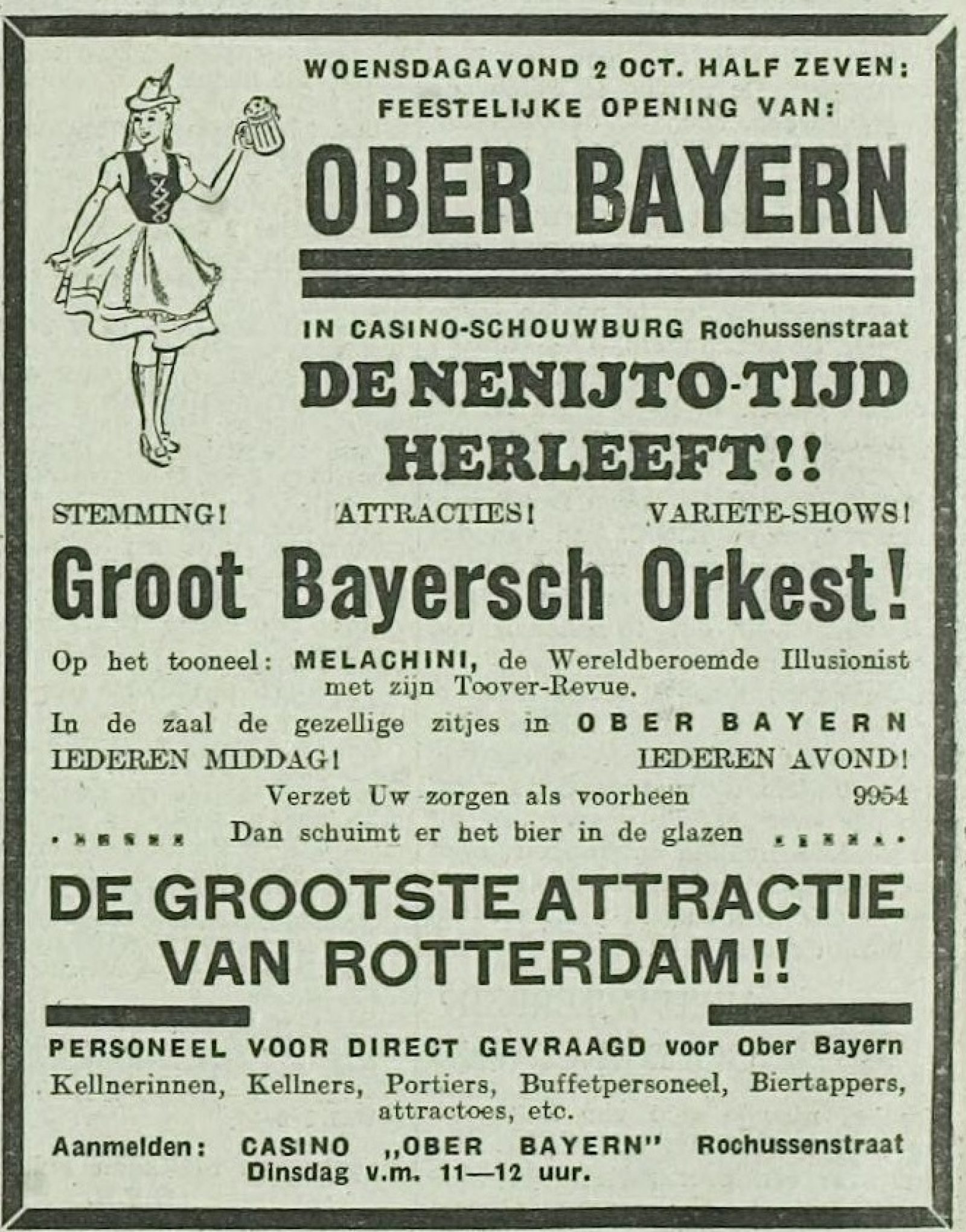 Noodw Ober Bayern Casino RN 30 09 1940