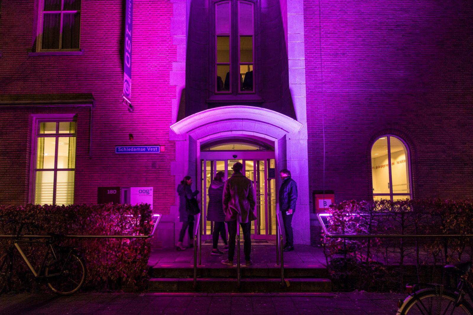 Oogziekenhuis Museumnacht paars