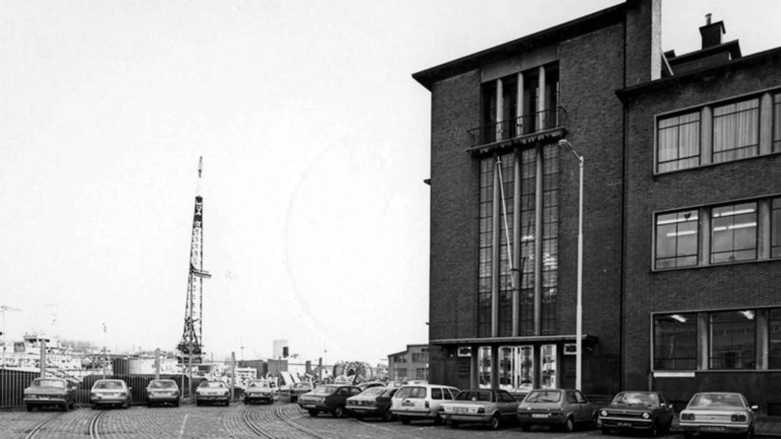 Oude kantoor Blaauwhoedenveem Sint Jobsweg Stadsarchief Rotterdam