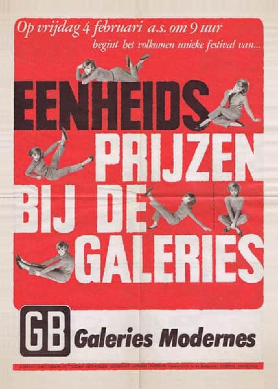 onbekend galleriesmodernes affiche