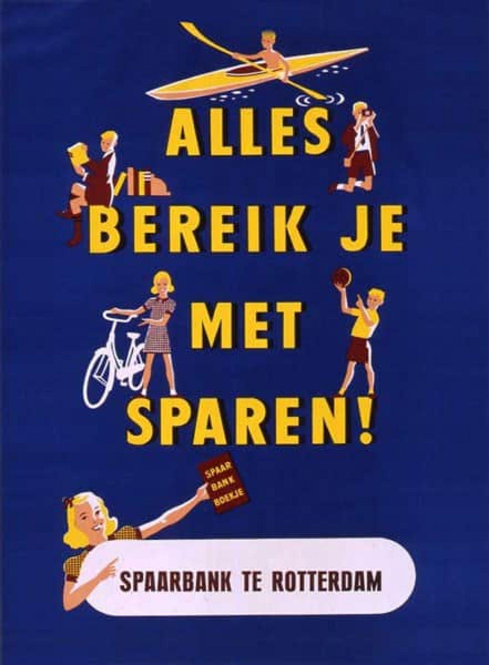Onbekend Spaarbank Poster