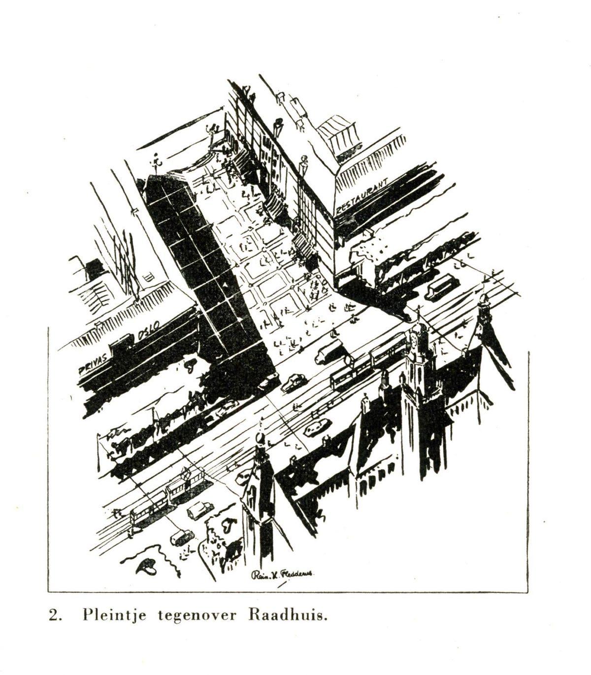 03 stadhuisplein 1946 bp