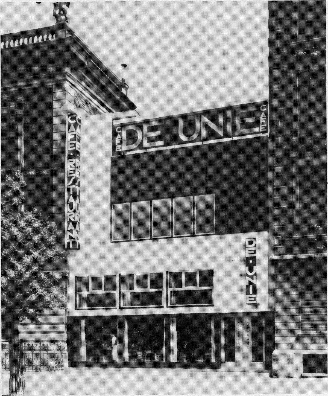 1925 ca Oud Cafe De Unie wiki