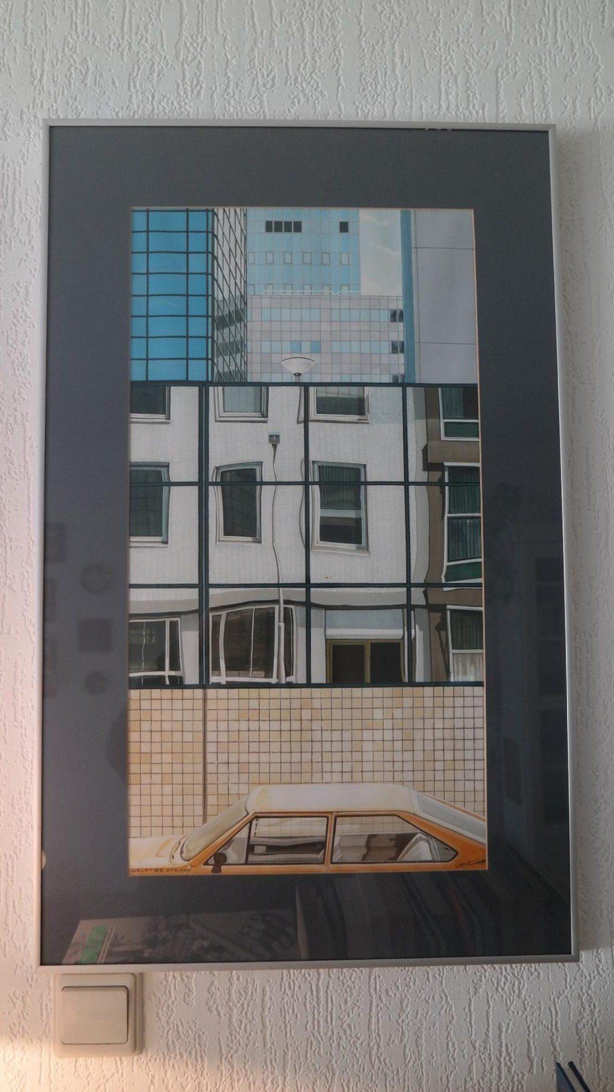 Cees van Hal schilderij Delftsestraat