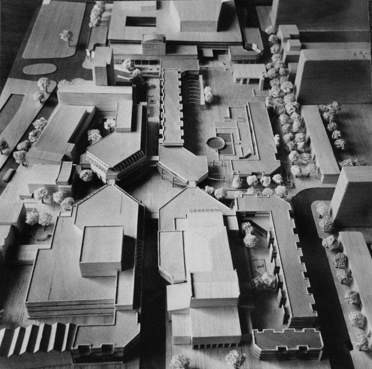 01 schouwburgplein 1977 hertz maquette