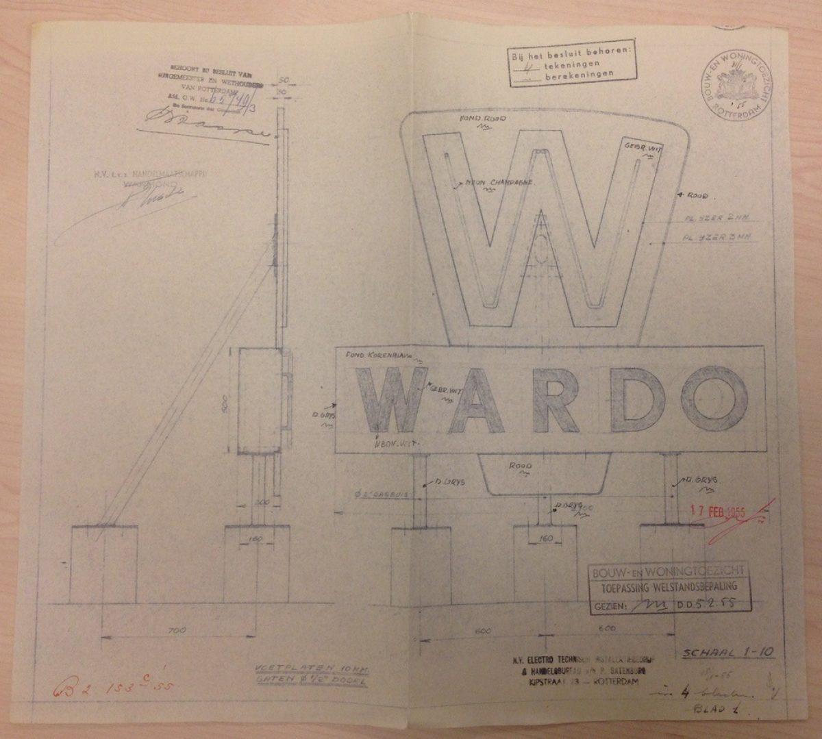 Delftsestraat Stadsarchief Warmond Wardo