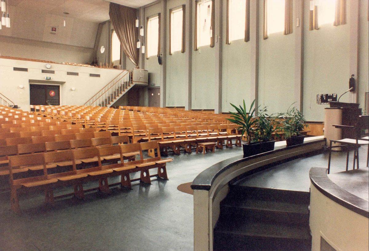 Gerard Mulder Leger des Heils Interieur Koningszaal