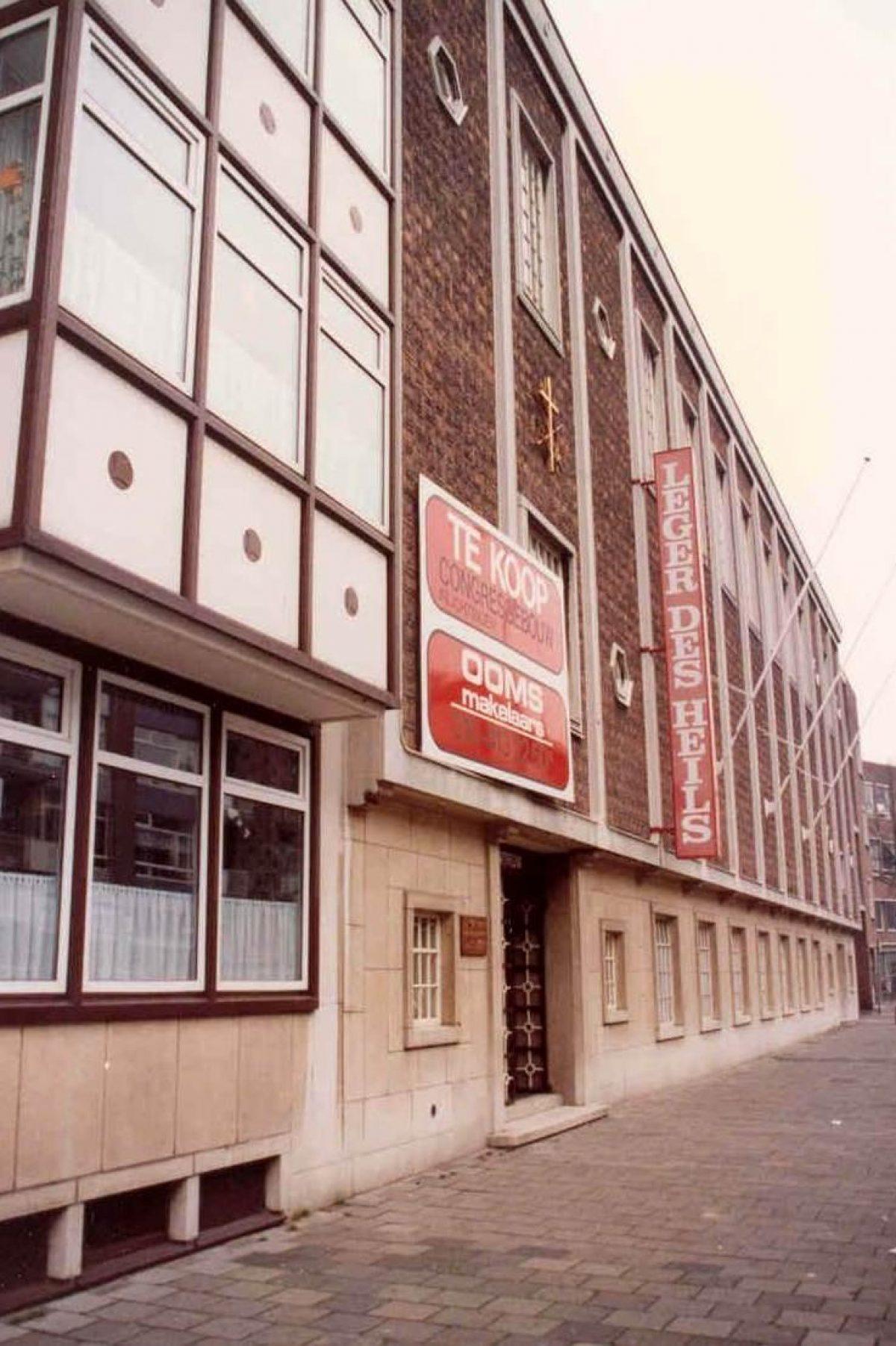 Gerard Mulder verkoop Leger des Heils1993