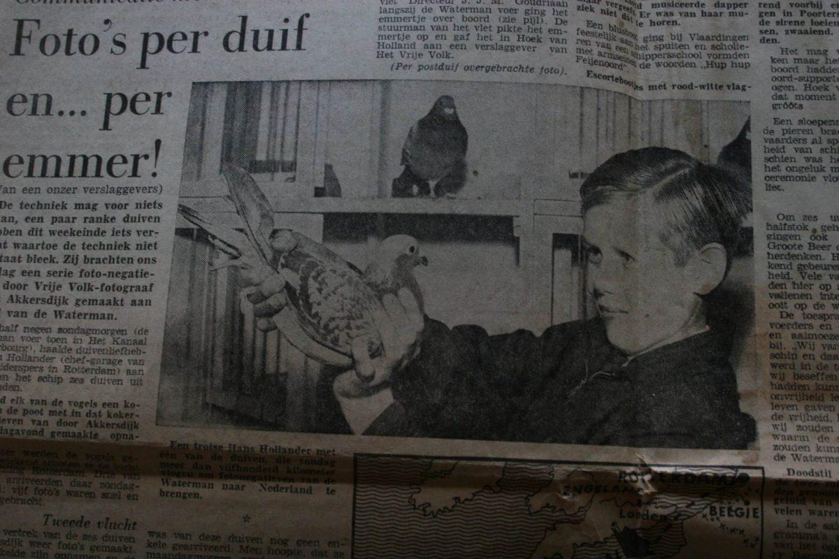 Hans Hollander In De Krant 5 Mei 1963