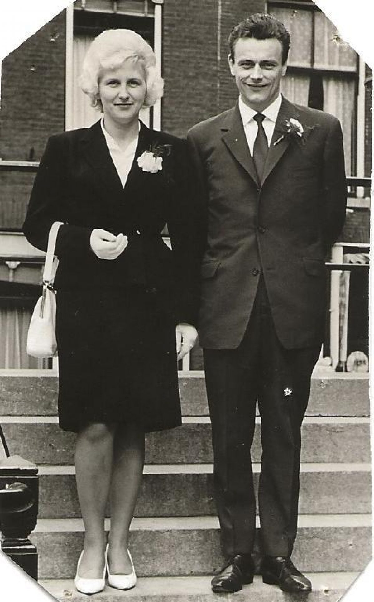 Helga Andersen foto Cor en Helga jaren 50