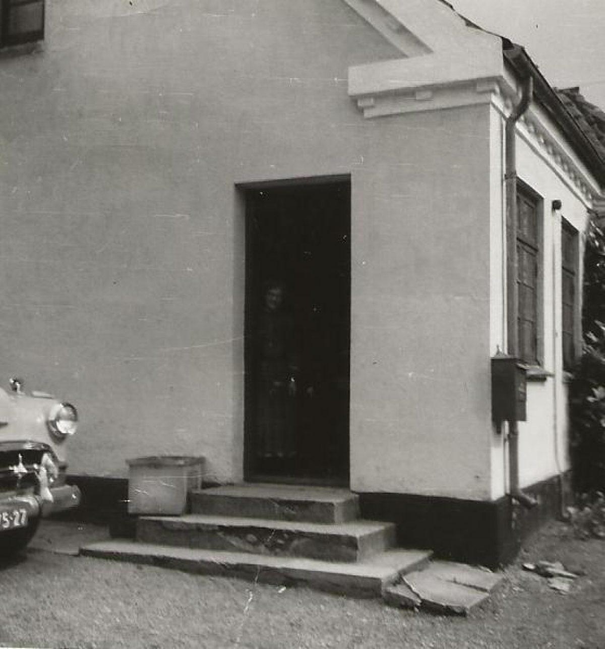 Helga Andersen het beroemde bankje