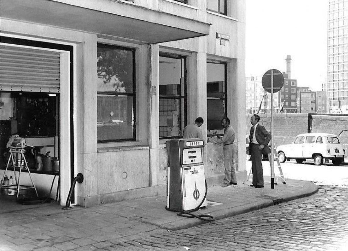 ICI garage benzinepomp JB