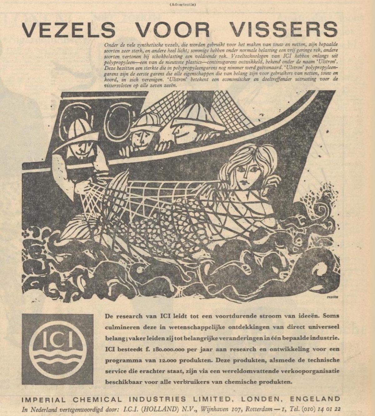 ICI Advertentie Volkskrant dec 1963