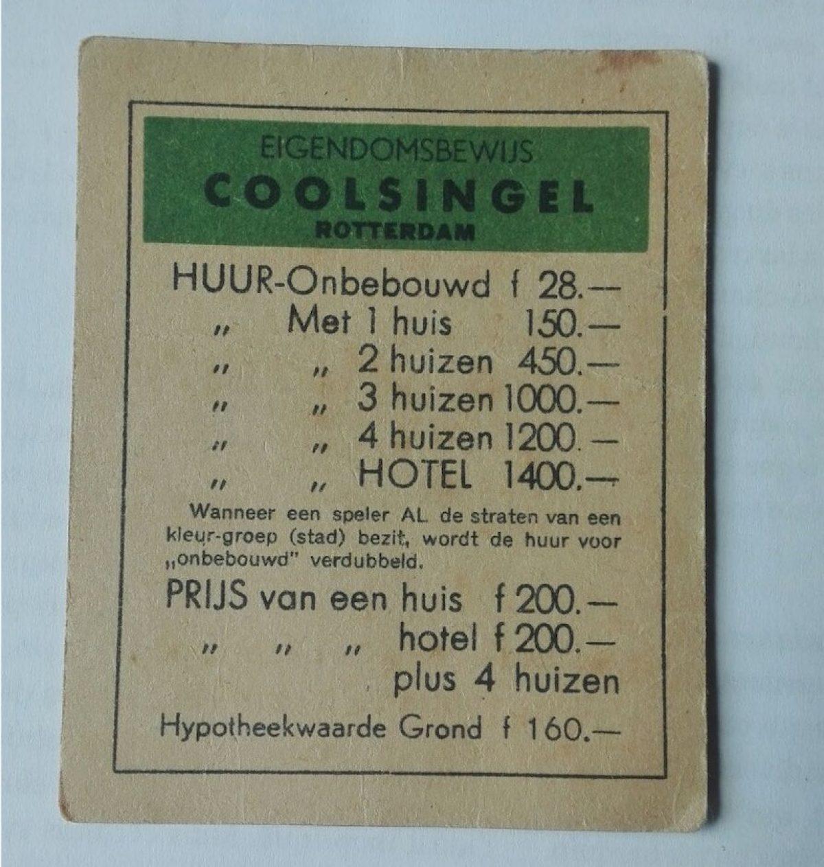 Monopoly Coolsingel