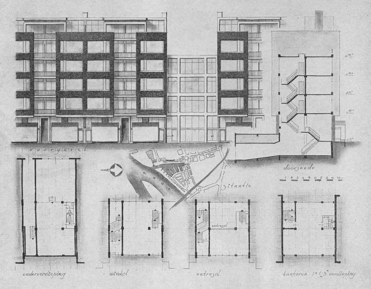 Schiedamsedijk-2-Bouw-1954