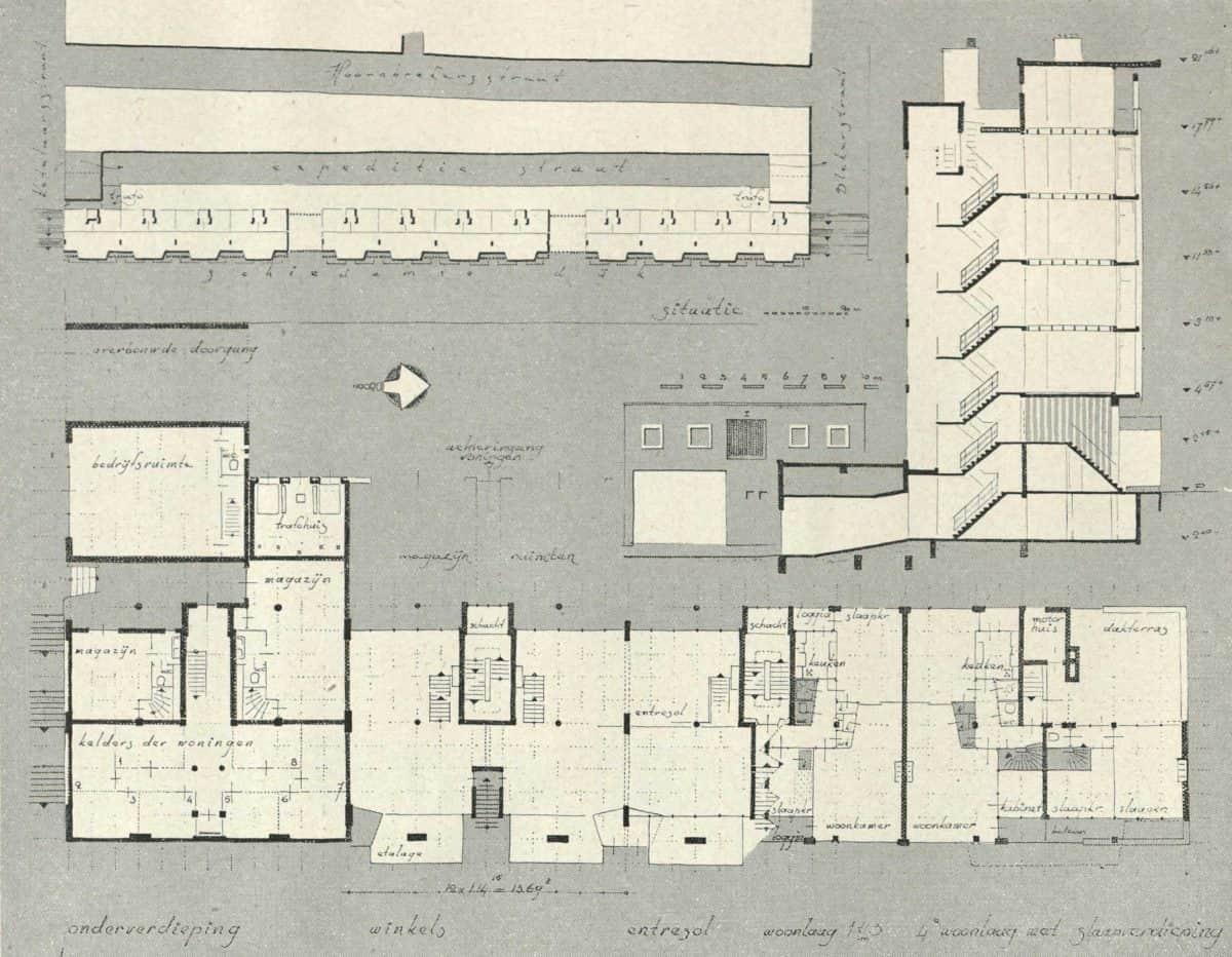 Schiedamsedijk-3-Bouw-1954