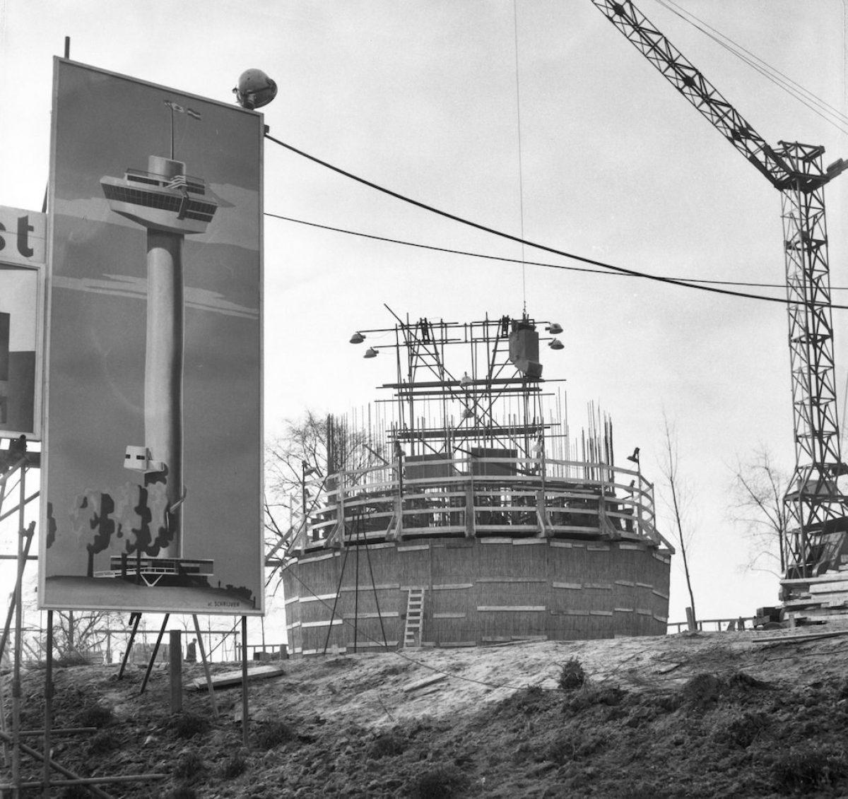 Start bouw Euromast NL Ha NA 2 24 01 04 0 910 1947