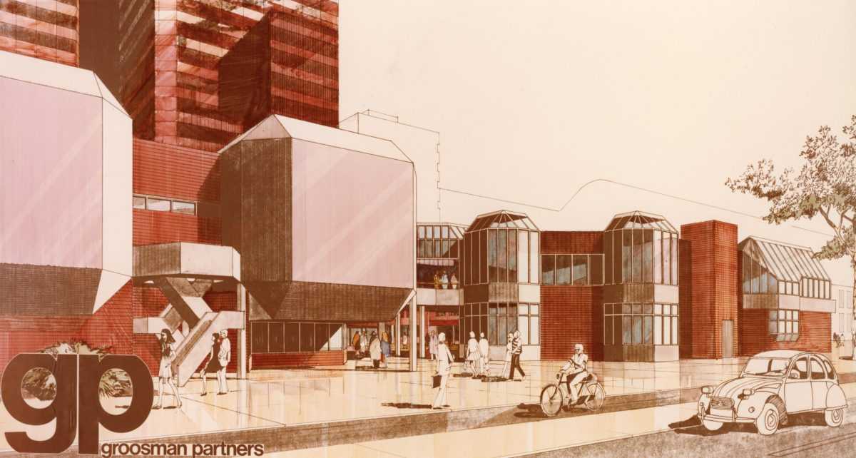 Tekening Coolse Poort Groosman Architecten