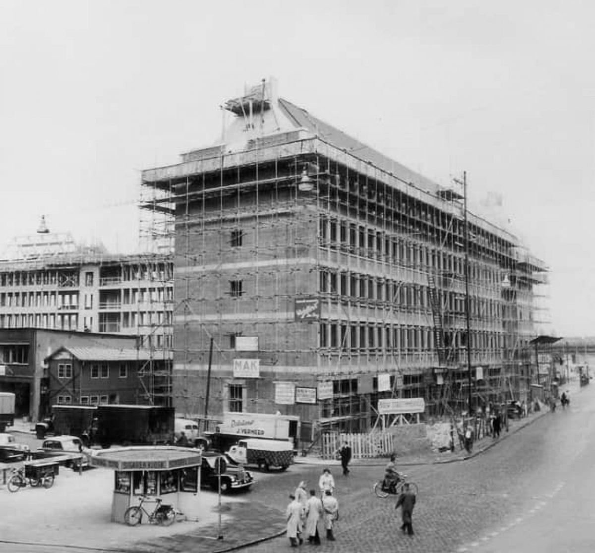 Stadsarchief Stadstimmerhuis Aanbouw