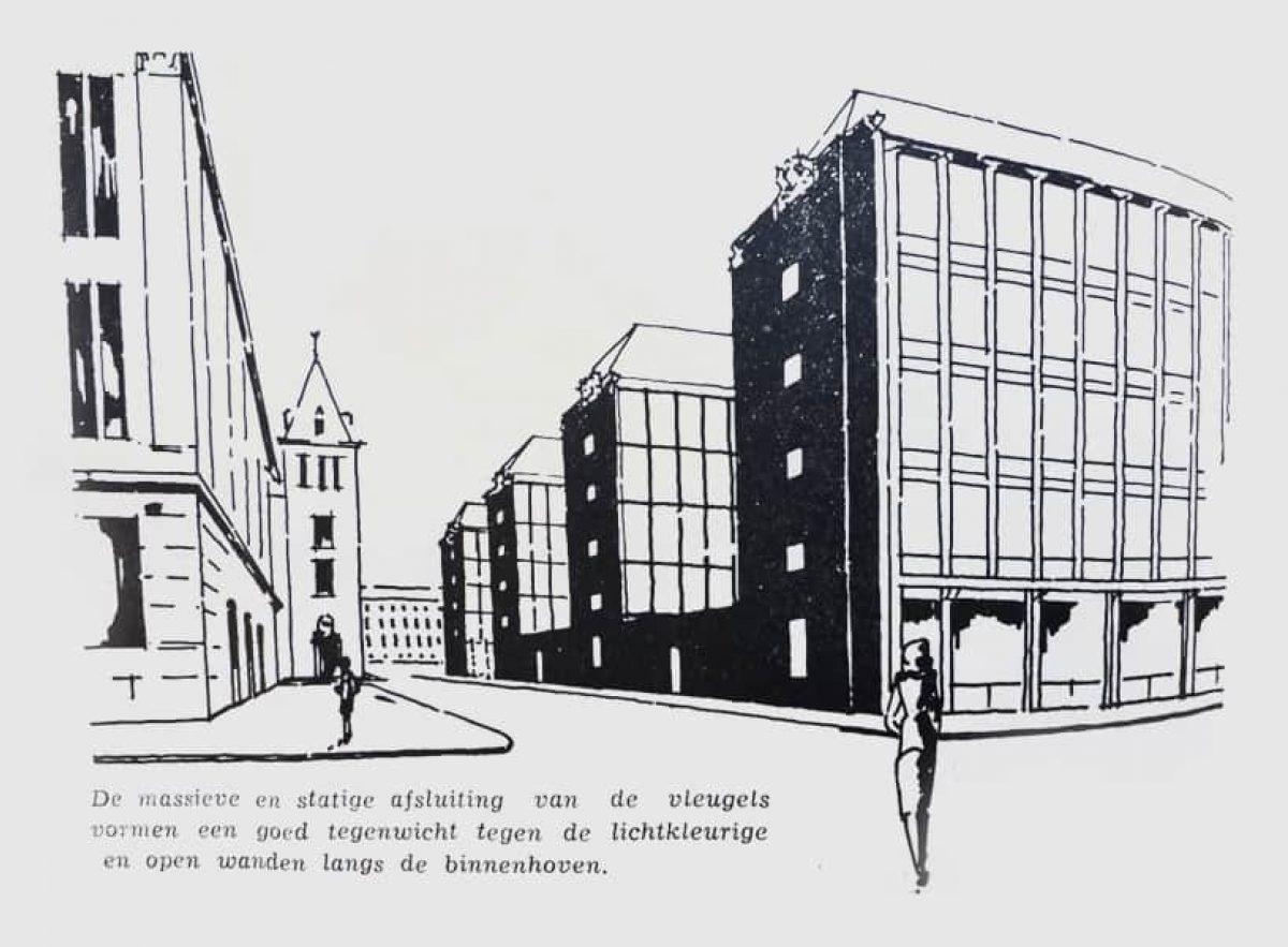 Stadsarchief Stadstimmerhuis Schets