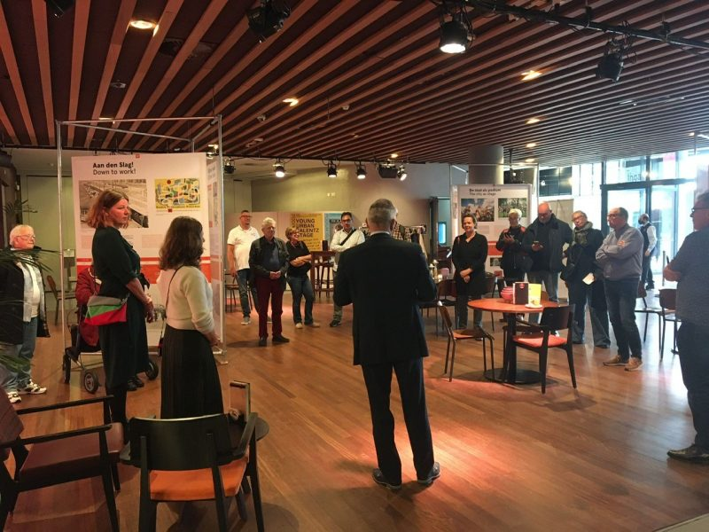 Rotterdam een attractie?! geopend in Podium Islemunda
