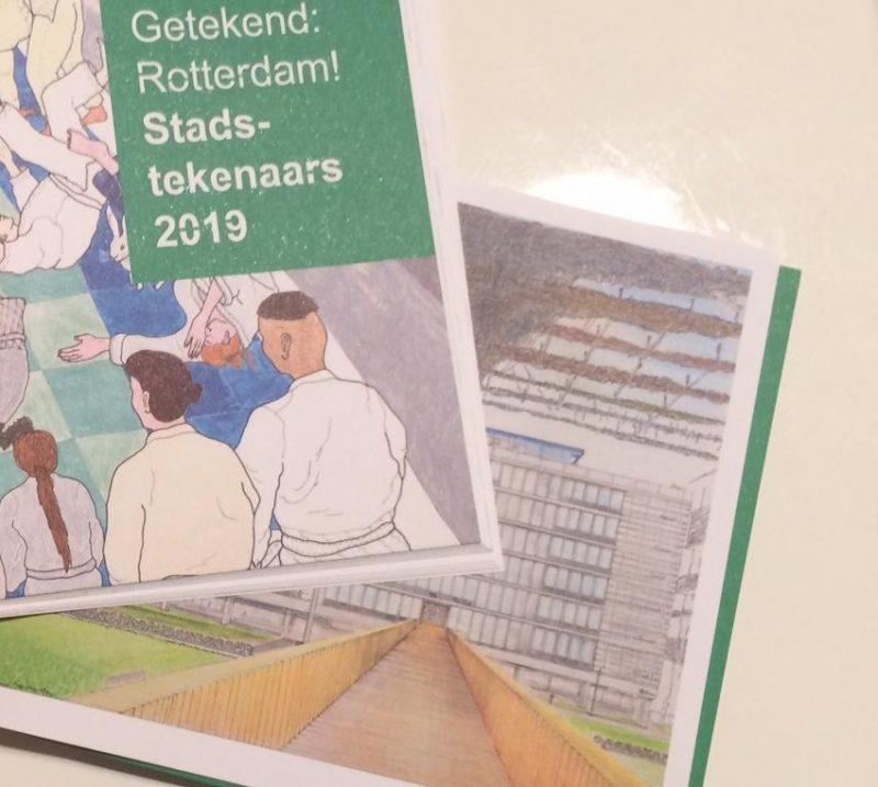 Nieuwe stadstekeningen in Kunsthal