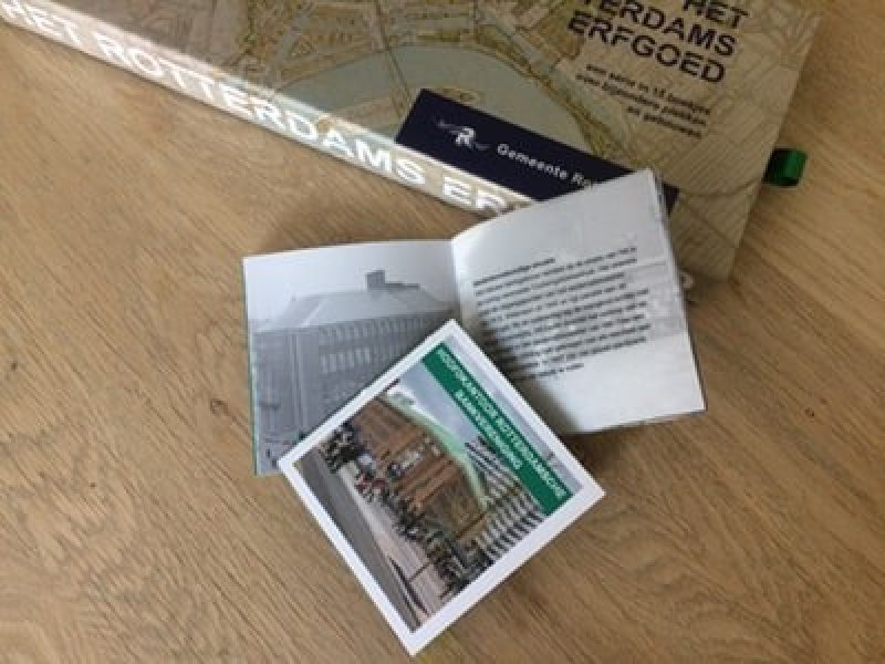 Cassette van serie Rotterdamse Erfgoedboekjes te koop