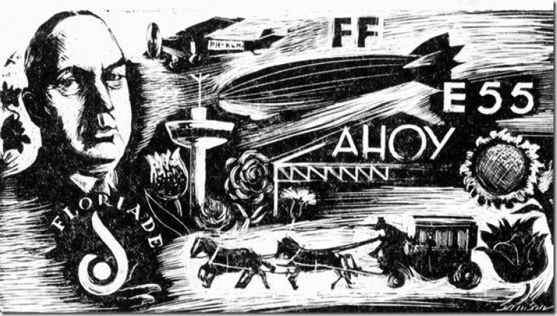 Floriade feuilleton deel 6 - Succesvolle organisator: Jac. Kleiboer