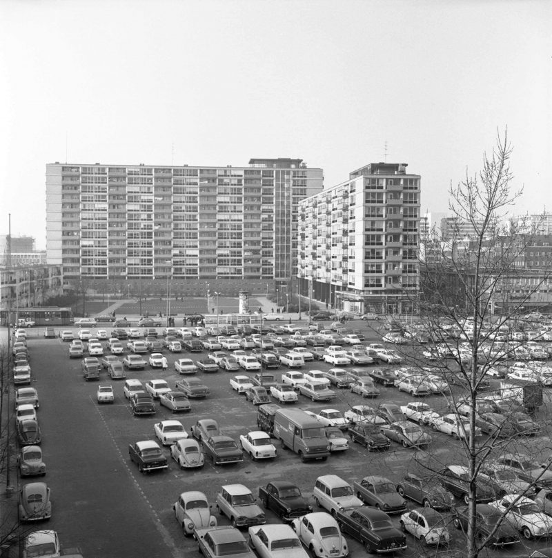 Lijnbaan apartment buildings