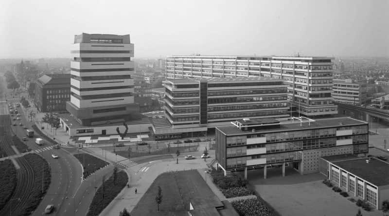 Technikon school complex, Hofplein theatre, Akragon gymnasium